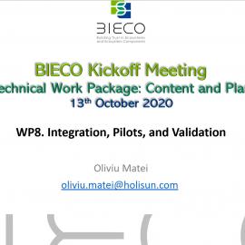Bieco WP8 – Kick off meeting
